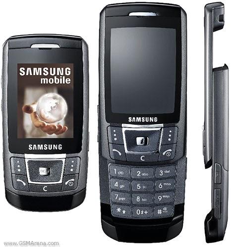 Samsung D900 Flash Files