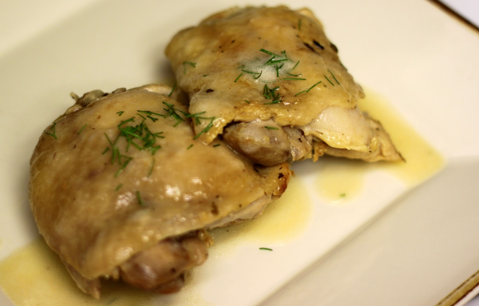 ... and Cook Recipes: Wednesday: Poulet Sauté aux Herbes de Provence