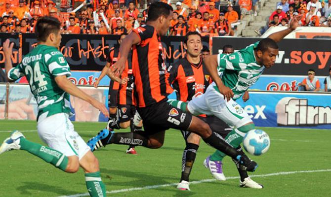 Jaguares vs Santos Laguna fecha 2 Apertura 2015 Liga MX