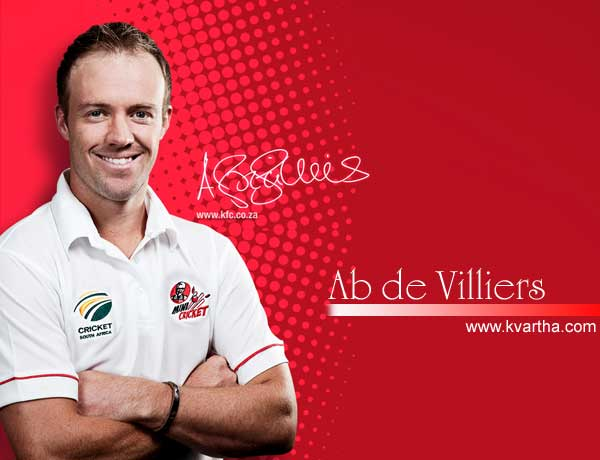 B de Villiers, Entertainment, Sports, Cricket, Abraham Benjamin de Villiers, De Villiers (who played for Carrickfergus Cricket Club in Northern Ireland as a youngster) became the second youngest and second fastest South African to reach 1000 test runs after Graeme Pollock and in his test career so far has batted, bowled and kept wicket as well.