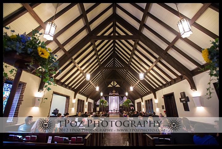 Church of the Good Shepherd Ruxton Wedding Ceremony