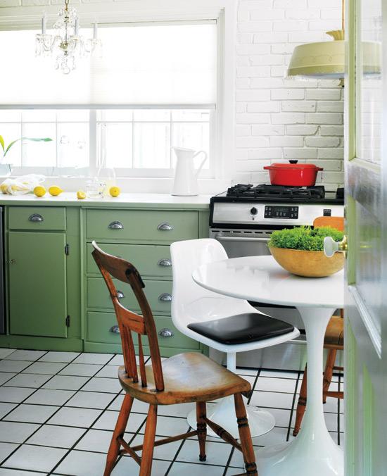 M nica diago arquitectura cocinas para vivir y disfrutar - Mesa cocina vintage ...