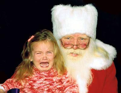 злой санта, дед мороз, санта клаус, ужасный новый год, ужасы, ужасный блог, страшный санта, дети боятся санту, фото с сантой