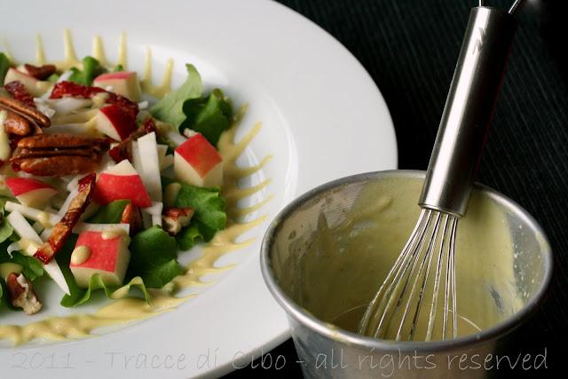 waldorf salad, insalata sedano rapa