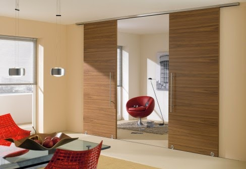 wood sliding doors design