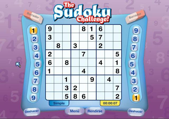 juegos de sudoku en espanol: