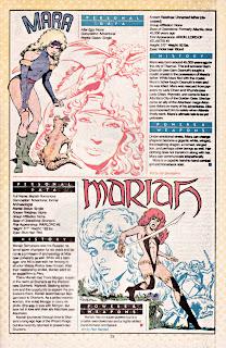 Mara y Mariah (ficha dc comics)
