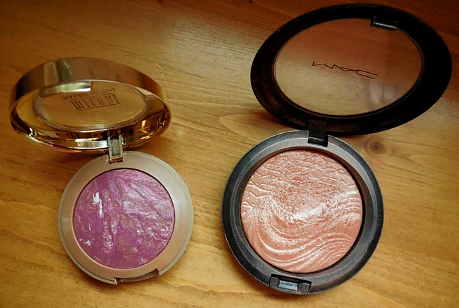 January Favorites, milani baked blush, mac fairly precious skinfinish