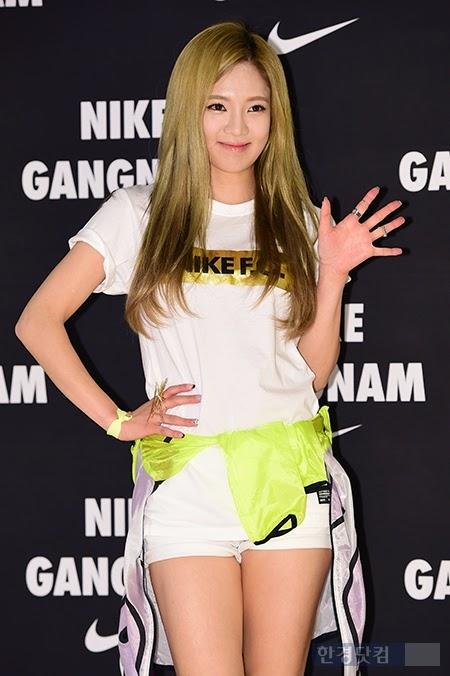 hyoyeon nike event