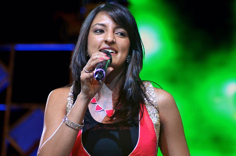 Rasika Chandrashekhar at Idea Rocks India, Bangalore (photo - Jim Ankan Deka)