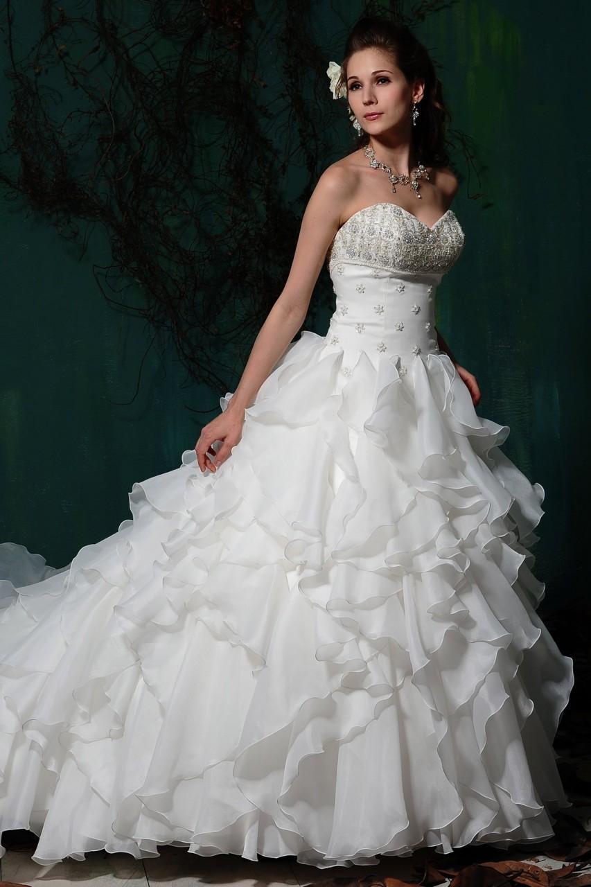 Wedding litoon wedding dresses 2013 for Wedding dresses chapel train