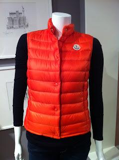 Moncler Orange Lightweight Vest