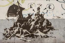 Le radeau de la Méduse revu par Banski, dans l'enfer de Calais
