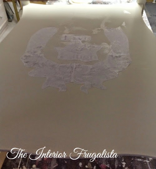 French Provincial Side Table image transfer 2