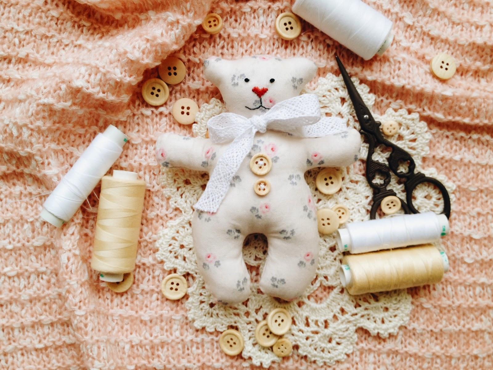 Ручная работа Кокоревой Анны, игрушки, мягкие игрушки, игрушки ручной работы, мишка тильда, ткань тильда,