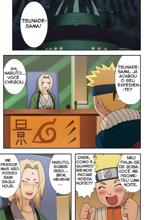 Naruto E Tsunade Manga Hentai