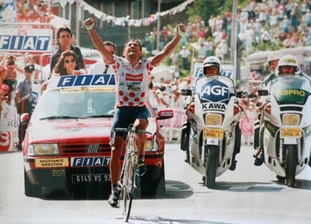 La última gran epopeya del ciclismo moderno: Claudio Chiappucci en Sestrieres/Tour1992 Chiappucci