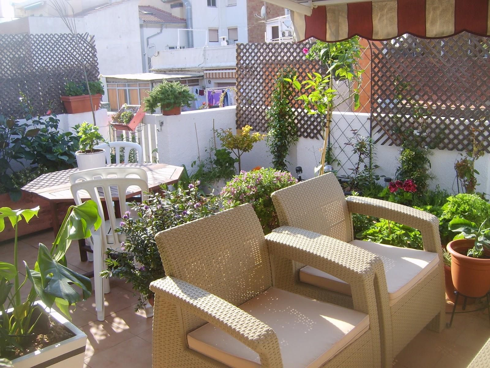 El rinc n de ceci un rincon relajante for Celosia terraza