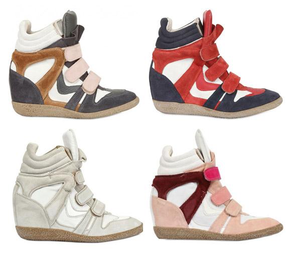 Sneakers la famosa zapatilla con taco
