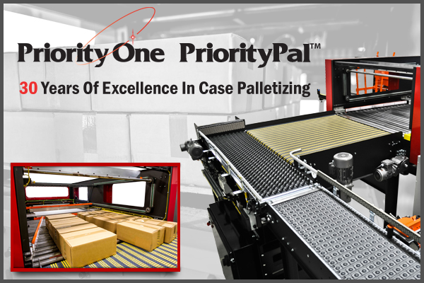 PriorityPal HL Series Case Palletizer from Priority One