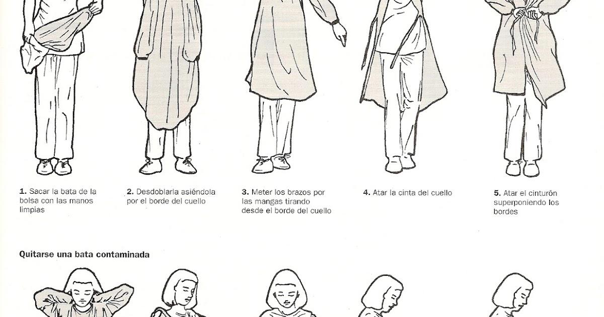 FUNDAMENTOS DE ENFERMERIA: Uso de Gorro, Bata y Mascarilla