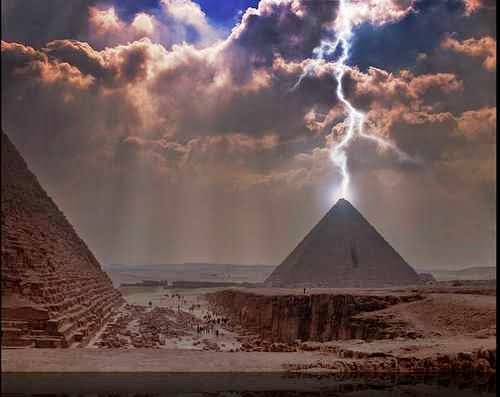 Pyramids of the World have Started to Come Alive Galactic Photon Belt Enters Our Solar System