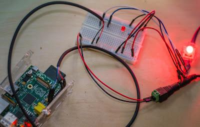 raspberry pi ws2801 power