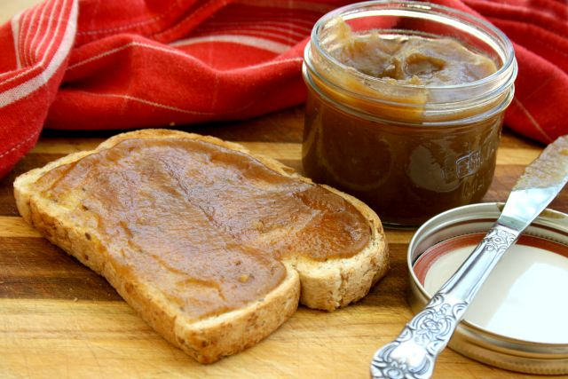 homemade apple butter from The Canning Kitchen cookbook