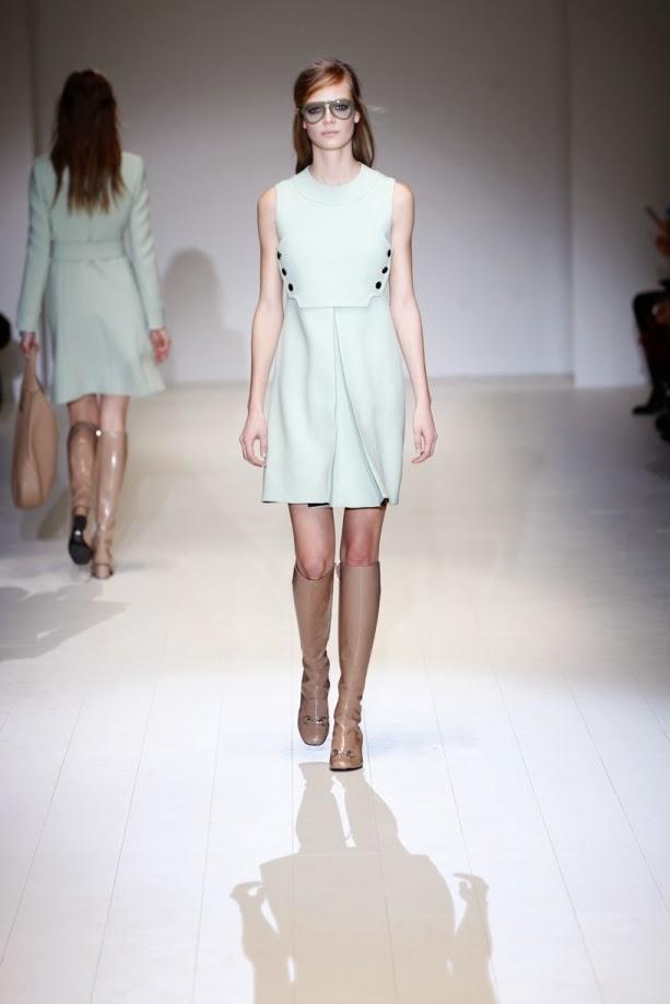 2014-2015 Sonbahar-Kış Gucci Elbise Koleksiyonu,gucci elbise modelleri, deri elbise, 2014 gucci elbise modelleri, 2014 elbise modelleri