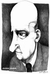 Kreslená hlava muže