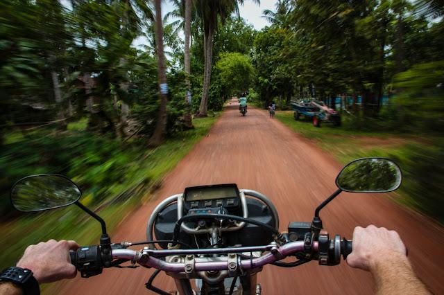 motor bike cambodia