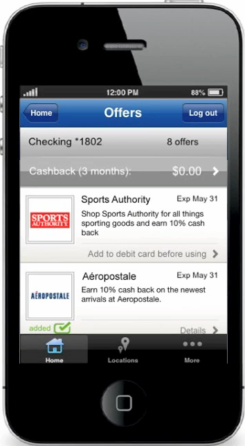 Ecran iPhone Offres Intuit