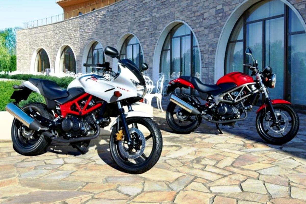 Honda VTR-F250 dan VTR250. Majalah Otomotif Online