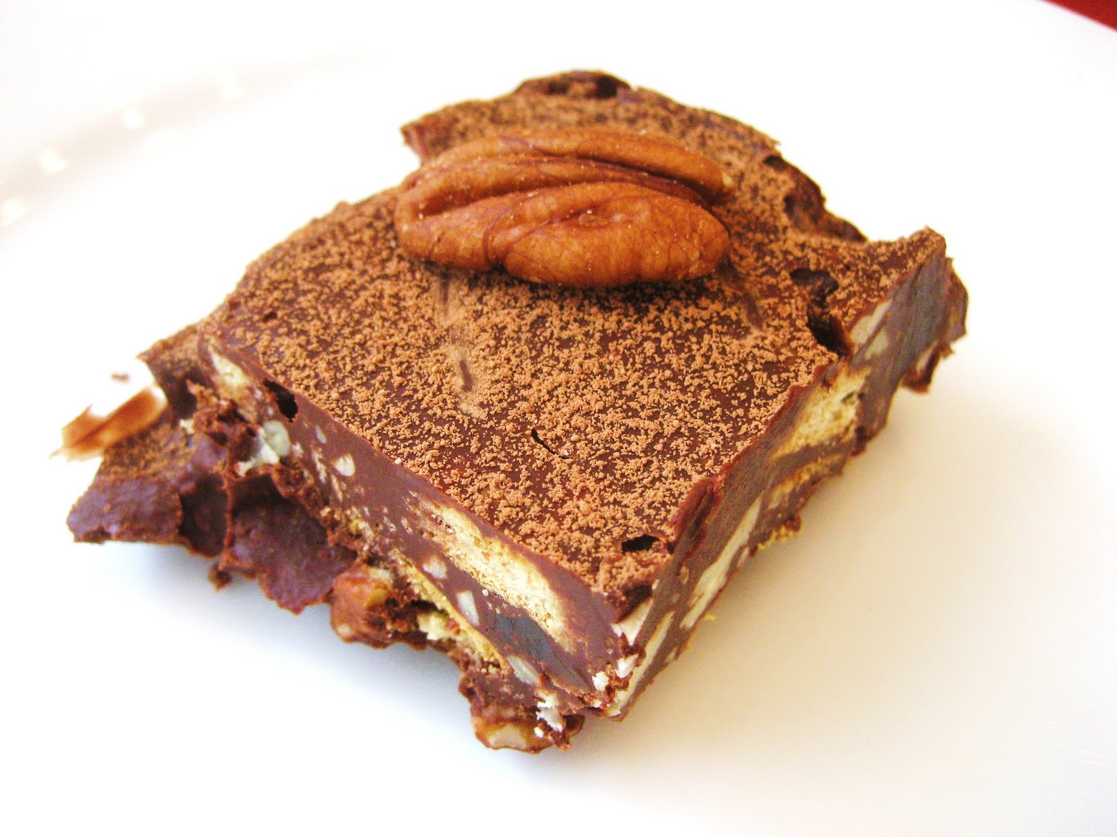 Treat a Week Recipes: Chocolate Tiffin (Fridge Cake)