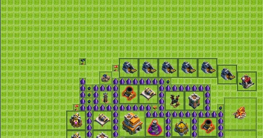 melhores layouts para clash of clans  centro de vila n u00edvel