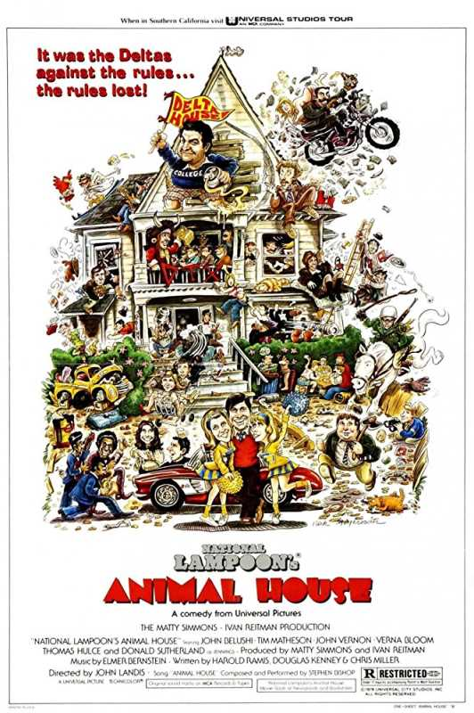 Animal House 1978 720p Esub BluRay  Dual Audio English Hindi GOPISAHI
