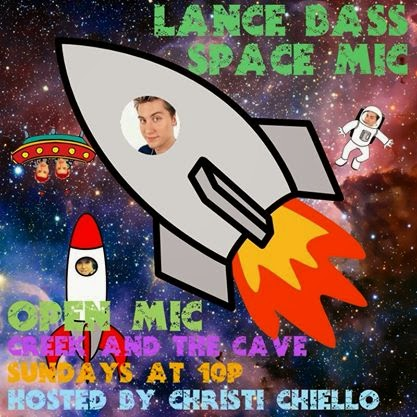 HOSTING LANCE BASS SPACE MIC WEEKLY