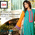 Komal Exclusive Embroidered Kurti Collection 2015 By LSM Fabrics