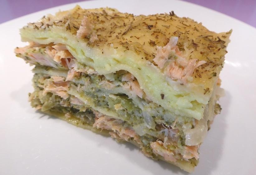 Cuisiner des lasagnes sans gluten au saumon et brocolis blogs de cuisine - Cuisiner sans graisse recettes ...