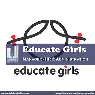 Manager - HR & Administration Job 2015