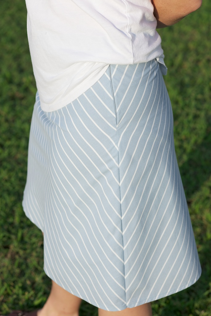 Sew Spoiled: A- Line Skirt Week