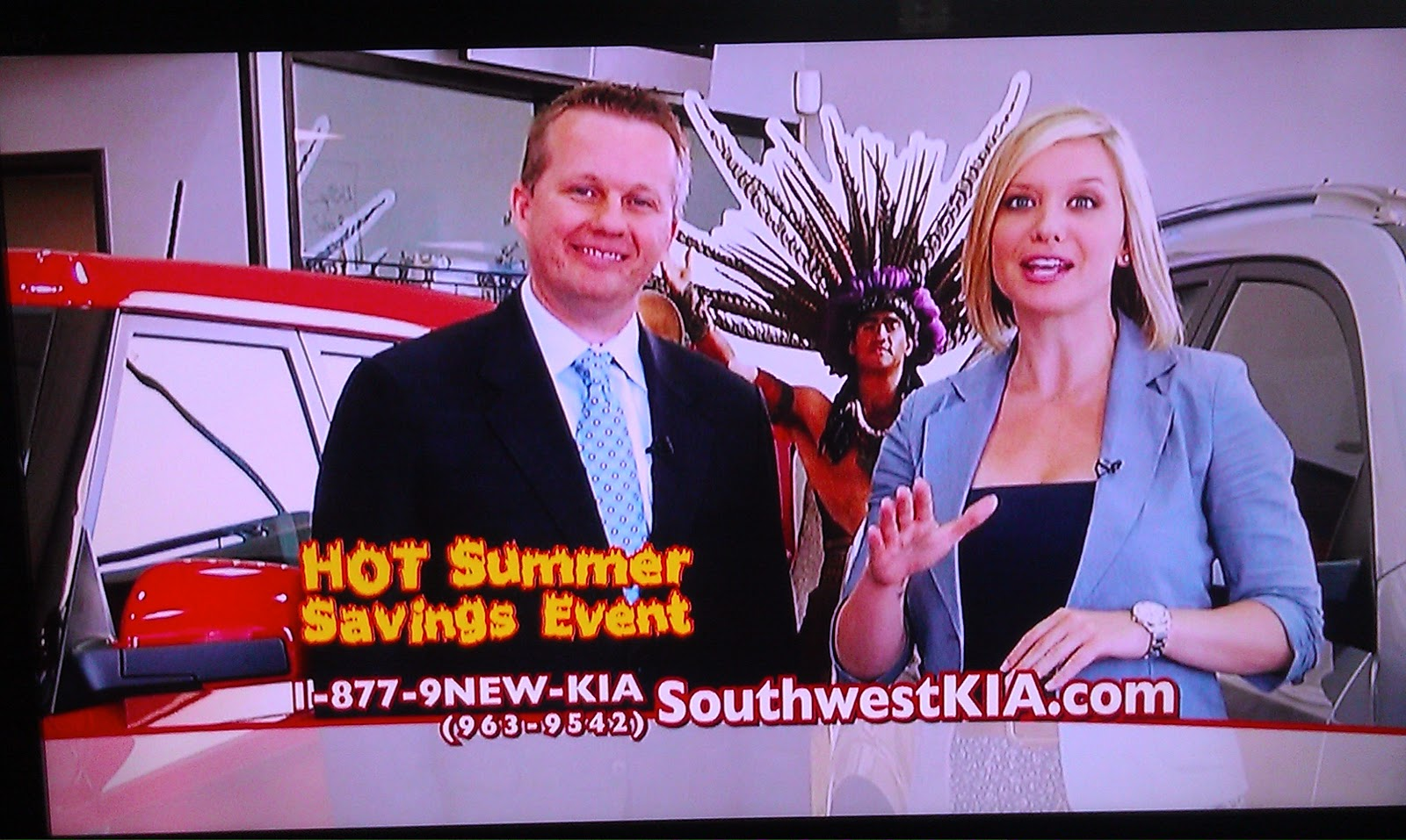 Is It Just Me or Is the Southwest Kia Girl Sneaky Hot?