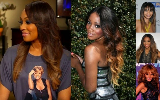 Ombre Hair Color For Dark Skin