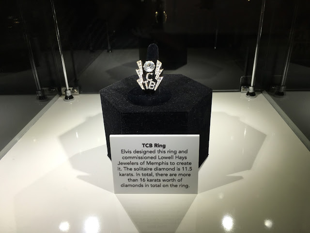 Elvis Presley TCB Diamond Ring. Elvis At The O2.