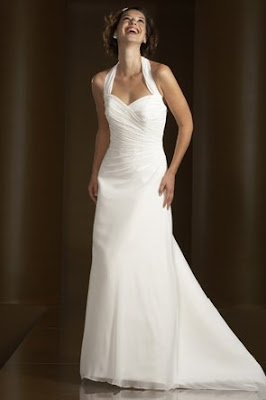 Cheap Halter Wedding Dresses