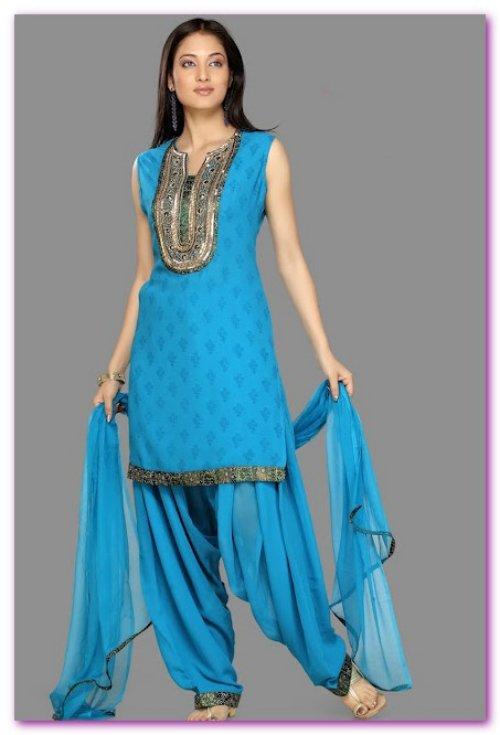 Salwar kameez top designs 2013