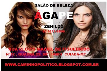 """""""ÁGAPE SALÃO DE BELEZA"""