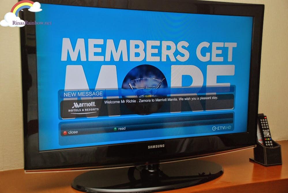 greeting on tv