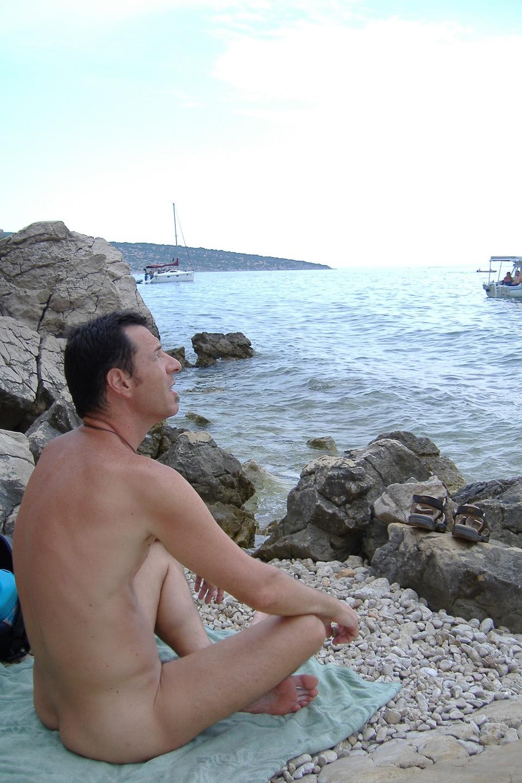 Nude Men Naked In Water