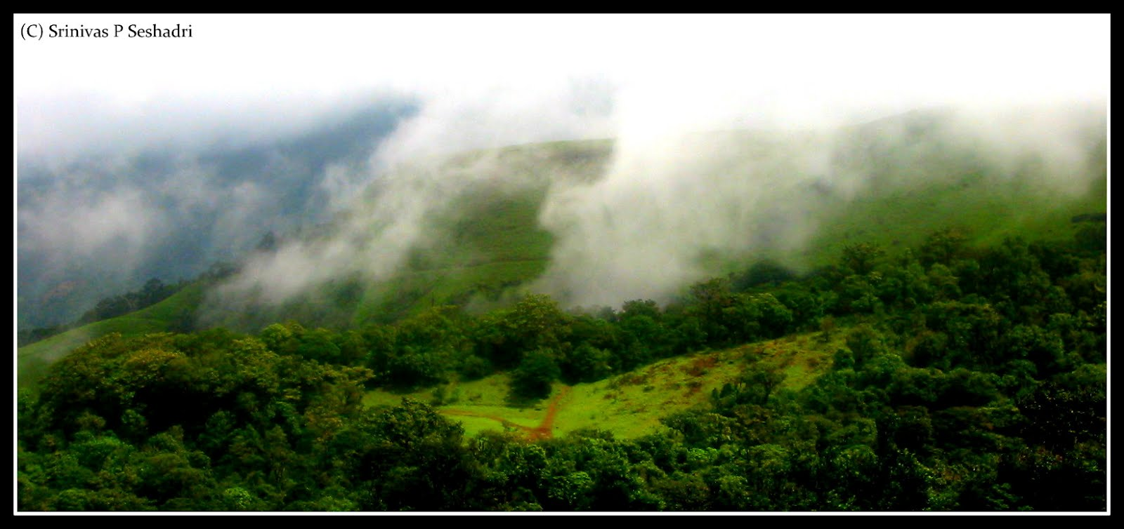 Roam the world with me... Kodachadri Clouds